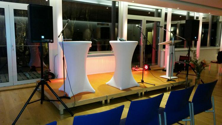 Konferenztechnik mieten Hamburg