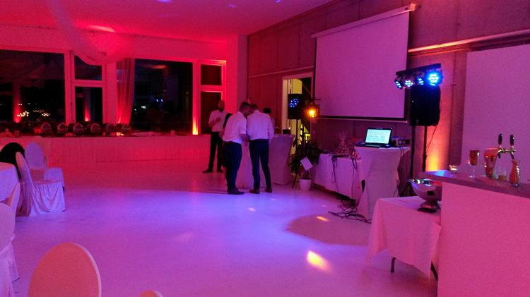 Lichttechnik mieten Hochzeit