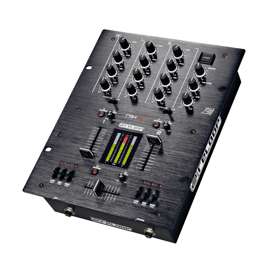 DJ Mischpult 2-Kanal