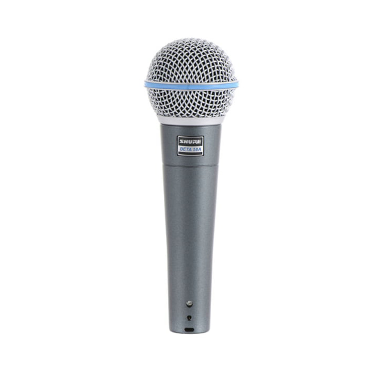 Mikrofon mieten Hamburg Shure Beta 58
