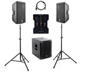 Musikanlage mieten Basic Bundle